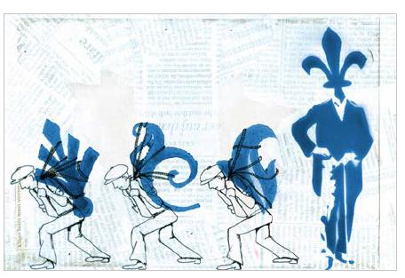 digital illustration/mixed media