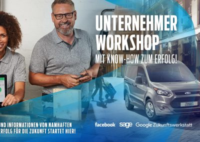 Live Design- und CI-Beratung: Ford Unternehmer-Workshop