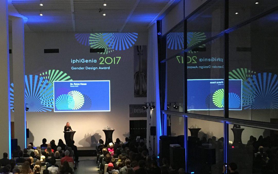 Design und live Visuals: iphiGenia Gender Design Award