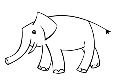 Kinder_Illustration_Elefant